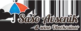 Logo SASO AVSENIK UND SEINE OBERKRAINER
